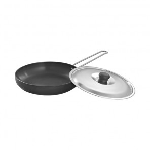 Deep Fry Pan (Hard Anodized) 240 mm IB