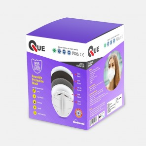 Que N95 Face Mask ( Pack of 10Mask)